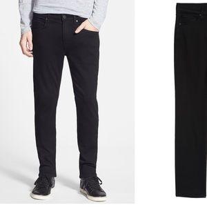 PAIGE Transcend-Lennox Slim Fit Men's Black Jeans